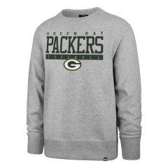 Packers '47 Sideline Block Headline Fleece Crew