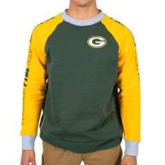 Packers Block Fleece Crewneck