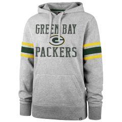 Packers '47 Double Block Sleeve Stripe Hoodie