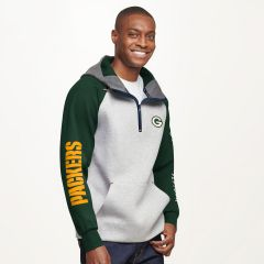Packers Tommy Hilfiger Color-Blocked PO Hoodie