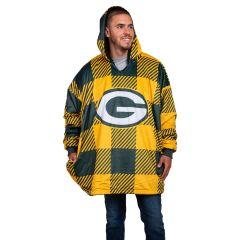 Packers Buffalo Check Reversible Hoodeez