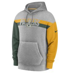 Packers Wordmark Heritage PO Hoodie