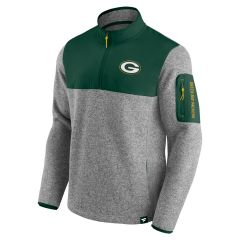 Packers Block Party Sweater 1/4 Zip Pullover