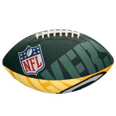 Packers Junior Super Grip Rubber Football