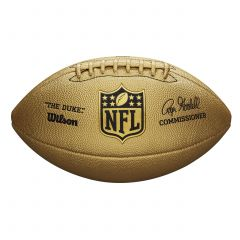 The Duke Replica Metallic Gold Football