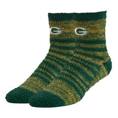 Packers Womens 47 Snug Fuzzy Crew Sock