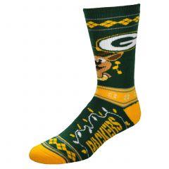 Packers Women's Sweater Stripe Sock