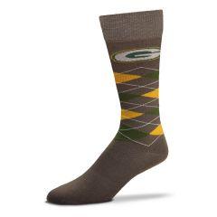 Packers Horizontal Argyle Socks