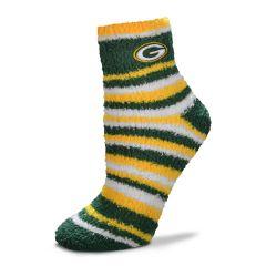 Packers Womens Muchas Rayas Slipper Sock