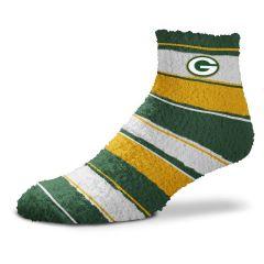 Packers Women's Skip Stripe Slipper Sock