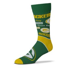Packers End to End Big Logo Sock