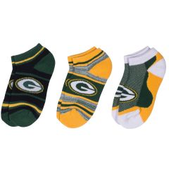 Packers Men's Cash 3-Pack Socks