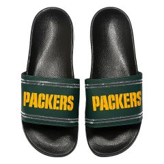 Packers Women's Sequin Slide Sandals