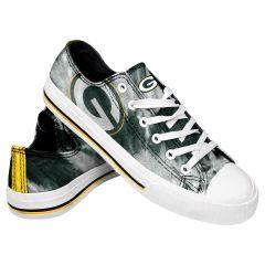 Packers Women's Tie-Dye Canvas Sneaker