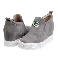 Packers Women's Wedge Sneaker