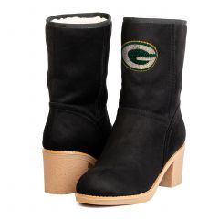 Packers Women's The Sideline Stacked Heel Boot