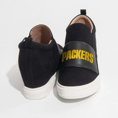 Packers Women's Safety Slip-On Wedge Sneaker