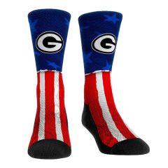 Packers Stars & Stripes Crew Sock