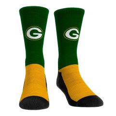 Packers Rapid Stripe Crew Sock