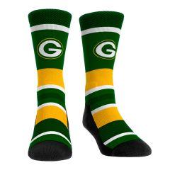 Packers Tech Stripe Crew Sock