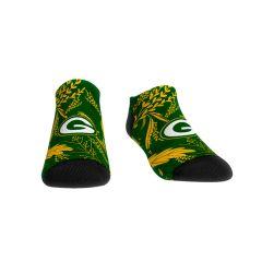 Packers Women's Leaves Low Cut Sock