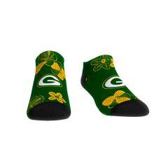 Packers Women's Flowers Low Cut Sock