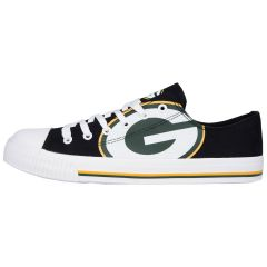 Packers Youth Low Top Big Logo Canvas Shoe