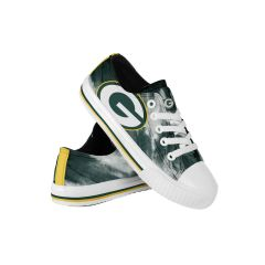 Packers Youth Tie-Dye Canvas Sneakers