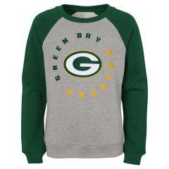 Packers Girls Around The Way Fleece Crew