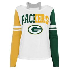 Packers Girls Faded T-Shirt