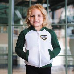 Packers Girls Fleece Full Zip Hoodie