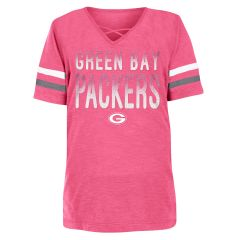 Packers Girls Slub Jersey T-Shirt