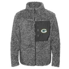Packers Girls Fan Gear Sherpa Jacket