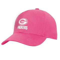 Packers Girls Pink Structured Cap