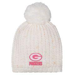 Packers Girls Nep Yarn Knit Hat