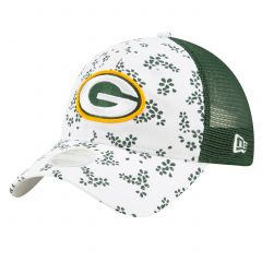 Packers Girls Jr Floral Trucker Cap