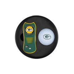 Packers Switchfix Divot Tool and Golf Ball Set