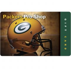 Packers Pro Shop Gift Card - Helmet