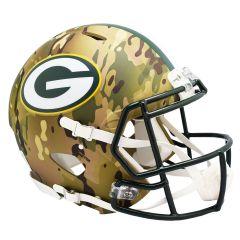 Packers Camo Alternate Speed Authentic Helmet