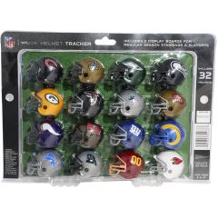 NFL Helmet Tracker Set