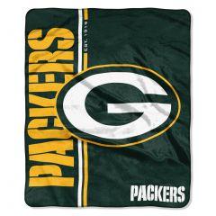 Packers Restructure Raschel Plush Throw Blanket