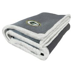 Packers Waffle Weave Throw Blanket