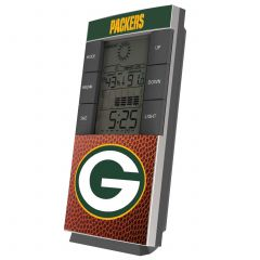 Packers Weather Station Desk Clock