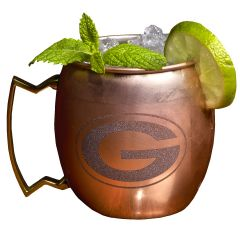 Green Bay Packers Moscow Mule Mug