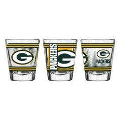 Packers Hero Shot Glass