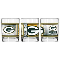 Packers Hero Rocks Glass