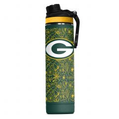 Packers Floral Sketch 22 oz. Hydra Water Bottle