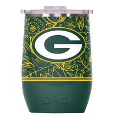 Packers Vino Floral Beverage Tumbler