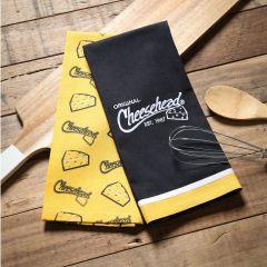 Packers Cheesehead 2-Piece Tea Towel Set