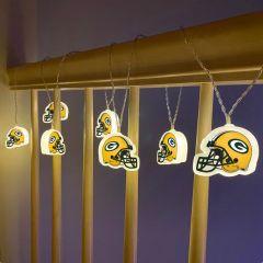 Packers Helmet String Lights